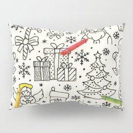 Color Me Christmas Pillow Sham