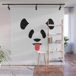 Giant Panda Tongues Out Wall Mural