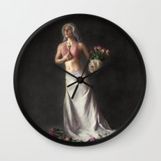 Choices - Fantasy Fine Art Photograph Wall Clock