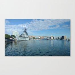 Buffalo Outer Harbor Canvas Print