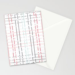 pastel doodle linear Stationery Cards