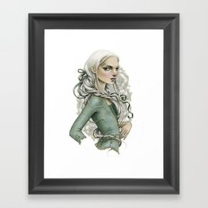 Vanishing Cream Framed Art Print