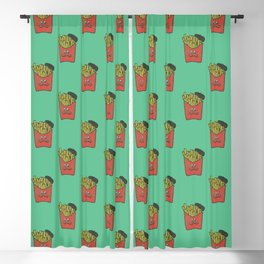French Fries Blackout Curtain