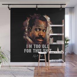 Danny Glover as Roger Murtaugh Wall Mural