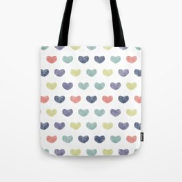 Cute Hearts IV Tote Bag