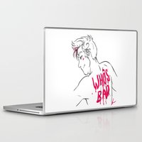kendrawcandraw Laptop & iPad Skins featuring Who's Bad by kendrawcandraw