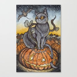 All Hallows Eve Canvas Print