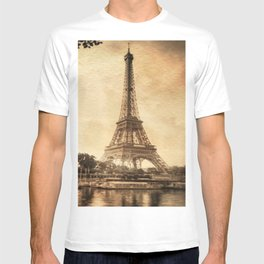 Vintage Eiffel Tower 2 T-shirt
