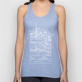 TOKYO BY NIGHT Unisex Tank Top