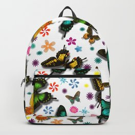 Flying Butterflies Backpack