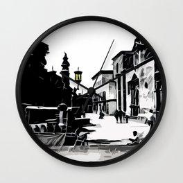 Plaza Wall Clock