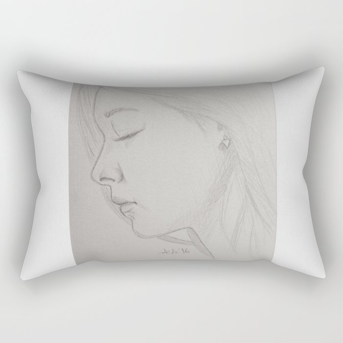 Tzuyu - Twice Rectangular Pillow