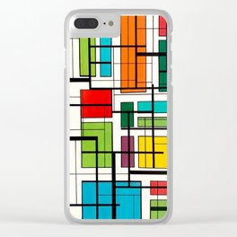 Pools in the neighborhood, Miami 2019 Clear iPhone Case