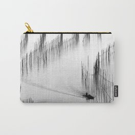 Fishing and Bamboos Carry-All Pouch