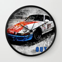 Magnus Walker, Outlaw 277 Wall Clock