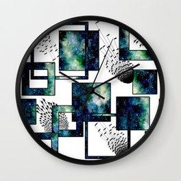 Galaxy Geometric Pattern 34 Wall Clock