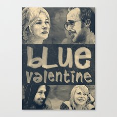 Blue Valentine Canvas Print
