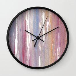 Purple Mist Wall Clock
