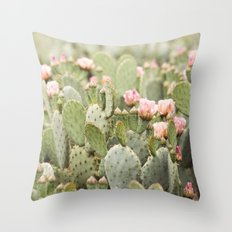 she takes her time Throw Pillow