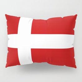 Flag of Denmark Pillow Sham