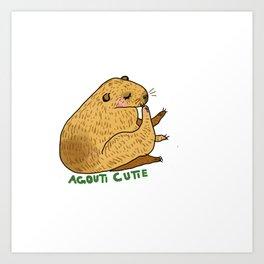 Agout Art Print