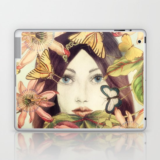 Whispers From A Secret Garden Laptop & iPad Skin