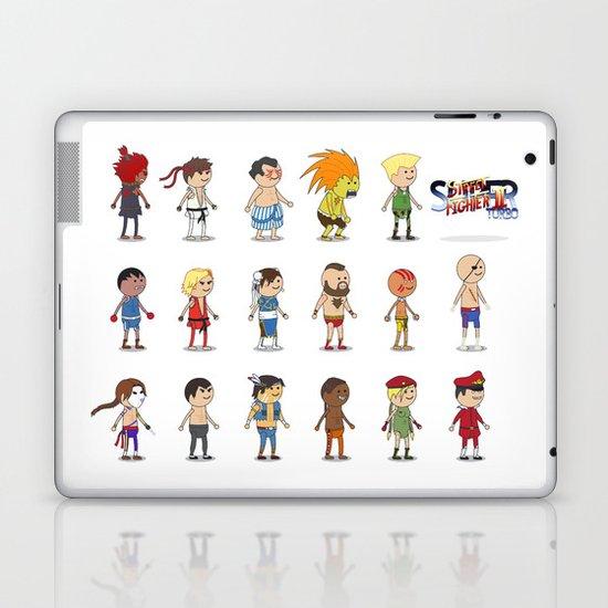Super Street Fighter II Turbo Laptop & iPad Skin