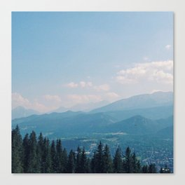 Mountain Air Part III Canvas Print