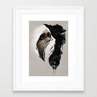 totem Framed Art Prints featuring Totem by Jeff Langevin