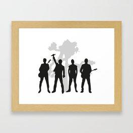You2JT Framed Art Print