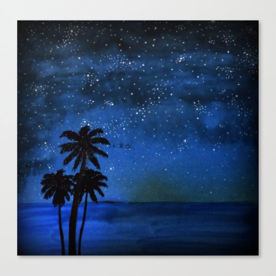 Seaside Impressions Canvas Print