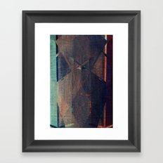 lazarus (no one knows me now) Framed Art Print