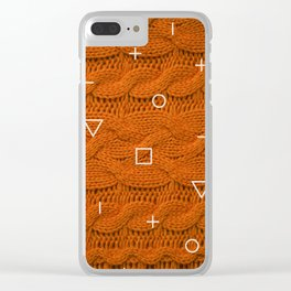 Orage Sweater Clear iPhone Case