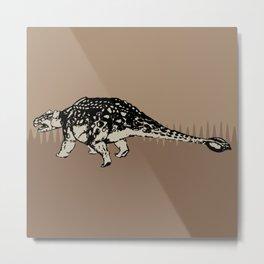 ChocoPaleo: Ankylosaurus Metal Print