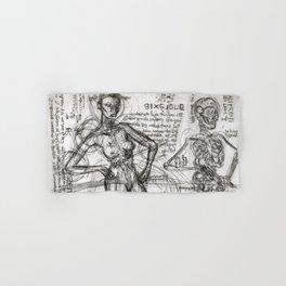 Clone Death - Intaglio / Printmaking Hand & Bath Towel