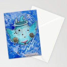 """""""Oro?"""" Aquarius Stationery Cards"""