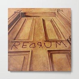 REDRUM  Metal Print