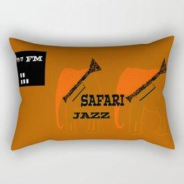 Safari Jazz Rectangular Pillow