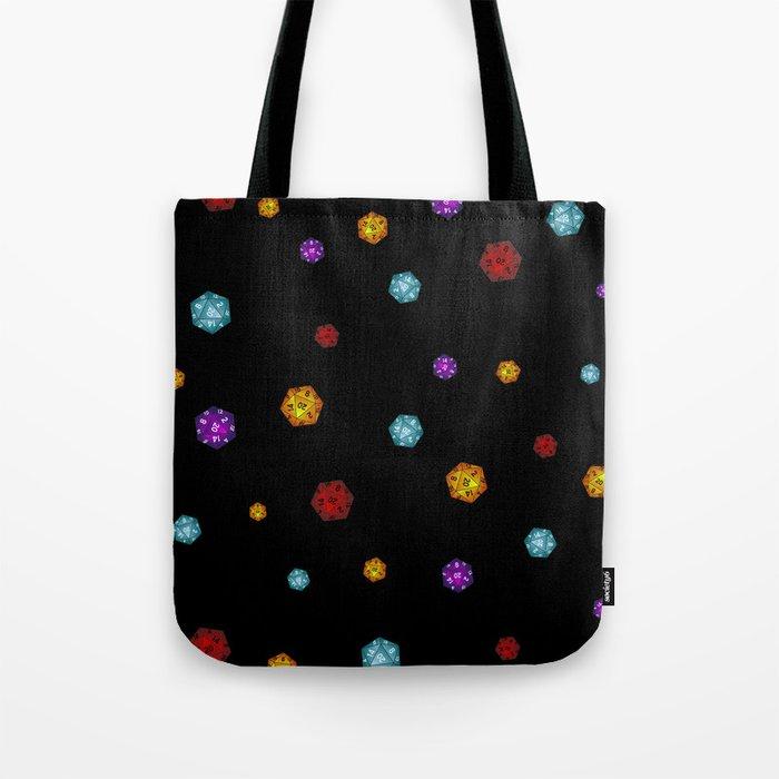 D20 Dice Tote Bag