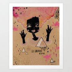 It's in us. Art Print