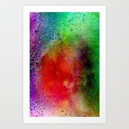 coffee foam Art Print