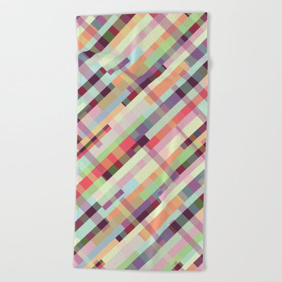 Patternwork XXXI Beach Towel