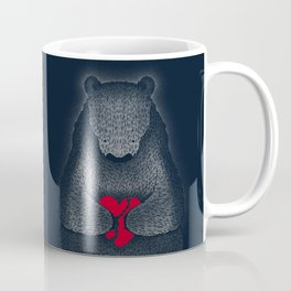 Broken (Dark Blue) Coffee Mug