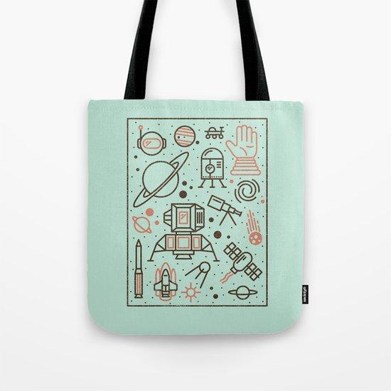 Cosmic Frontier  Tote Bag