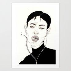 Listen! Art Print