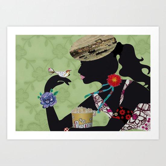 la Gironde Art Print