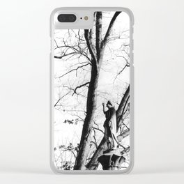 Guardians of the Graveyard Clear iPhone Case