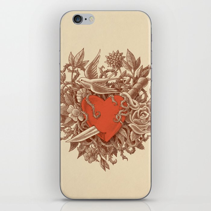 Heart of Thorns  iPhone Skin