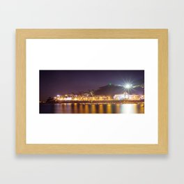 Lights of Casamicciola Terme (ISCHIA) Framed Art Print