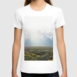 Sunset Behind the Tetons T-shirt